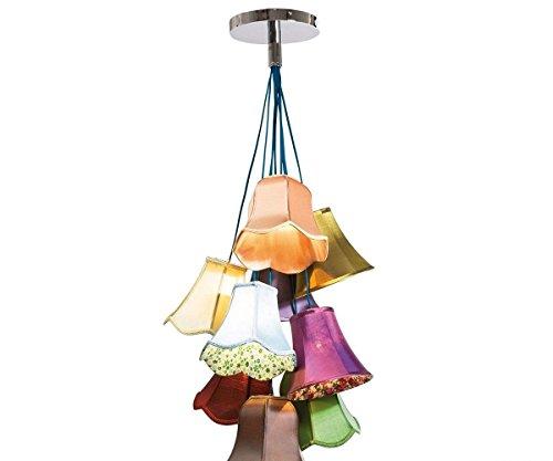 h ngeleuchte saloon flowers 9 60 cm bunt deckenleuchte by kare m bel24. Black Bedroom Furniture Sets. Home Design Ideas