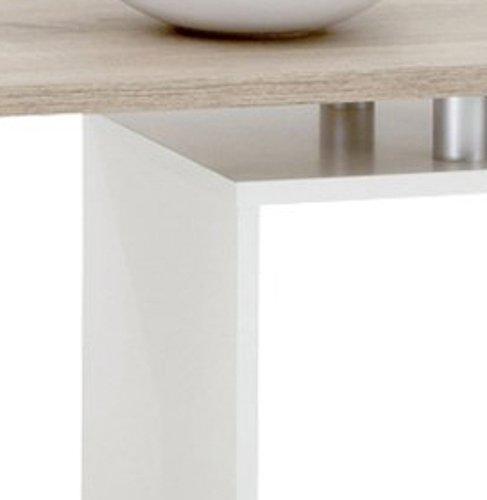 FMD Möbel 627001 Couchtisch Klara 77 x 44 x 40 cm, eiche