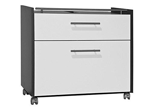 galdem waschbeckenunterschrank elegance mit 2 schubladen und rollenf en bad m bel badschrank. Black Bedroom Furniture Sets. Home Design Ideas